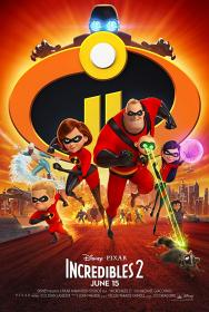 Incredibles 2 (2018) [BluRay] [720p]