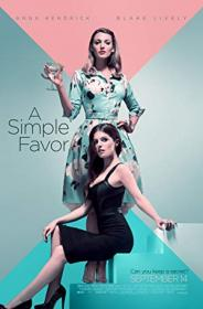 A Simple Favor 2018 720p BluRay H264 AAC-RARBG