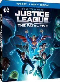 正义联盟大战致命五人组 Justice League vs  The Fatal Five 2019 HD1080P x264 英语官方中文字幕 Eng Chs aac btzimu