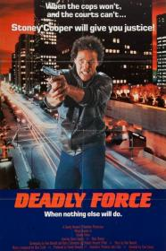 Deadly Force (1983) [BluRay] [720p]