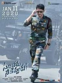 Sarileru Neekevvaru (2020) Telugu DVDScr x264 MP3 700MB